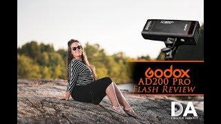 Godox AD200 Pro Flash Review 4K