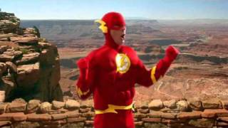 The Big Bang Theory 4x11 - The Justice League Recombination ( Sheldon Flash scene )