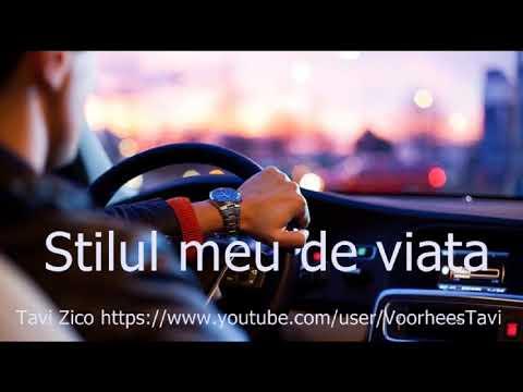 Tavi Zico-Stilul meu de viata
