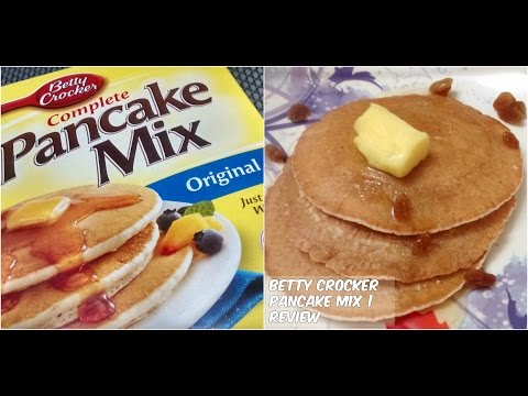 betty crocker pancake mix review cooking with la ����