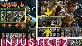INJUSTICE 2 - Ninja Turtles Variation Concept Confirmed!!!