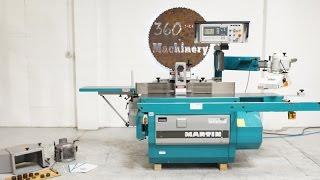 2002 MARTIN T26 DUO CNC TILTING SHAPER /WELL OPTIONED