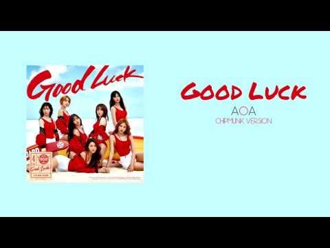AOA - Good Luck (Chipmunk Version)