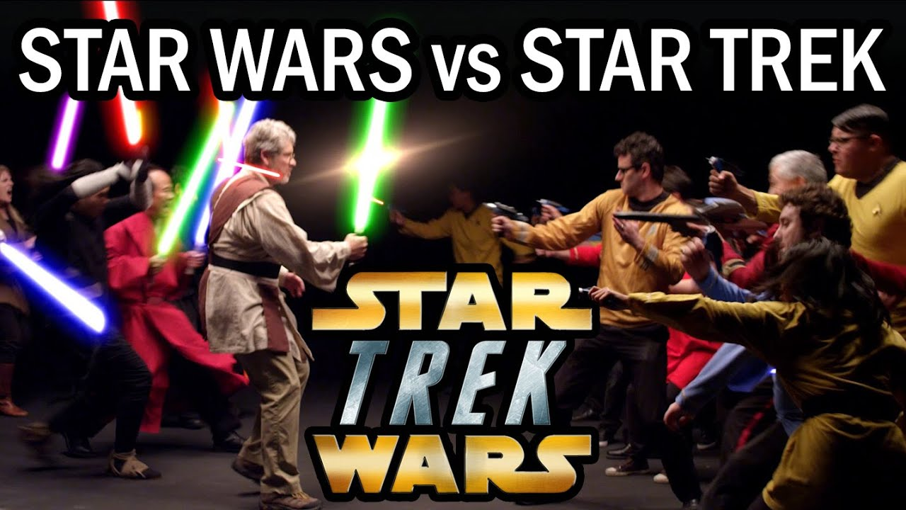 Battlestar Galactica vs. Star Wars