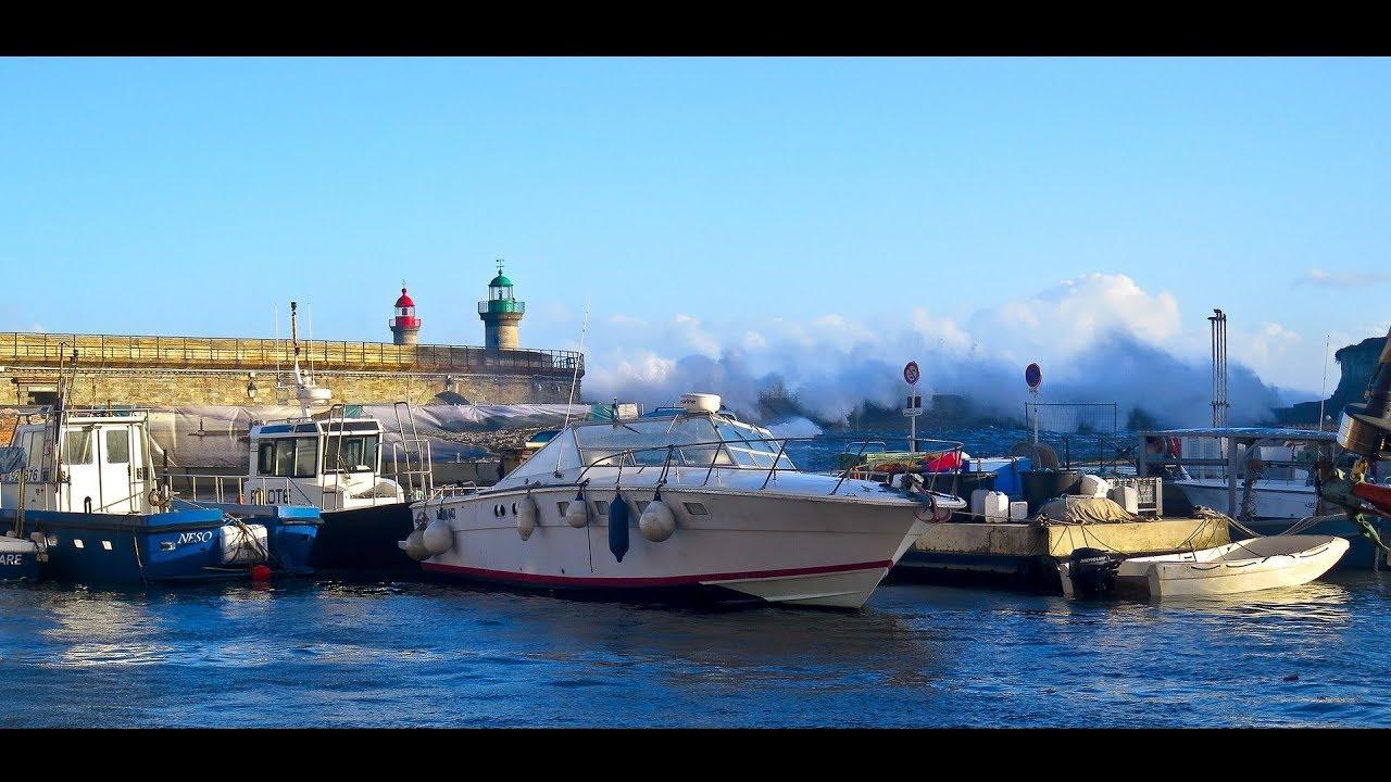 La Tempete Adrian Vieux Port De Bastia Meteo Corse Octobre 2018