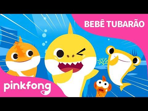 T - U-B-A-R-Ã-O | Bebê Tubarão | Cante junto com o Bebê Tubarão |  Pinkfong Canções para Crianças