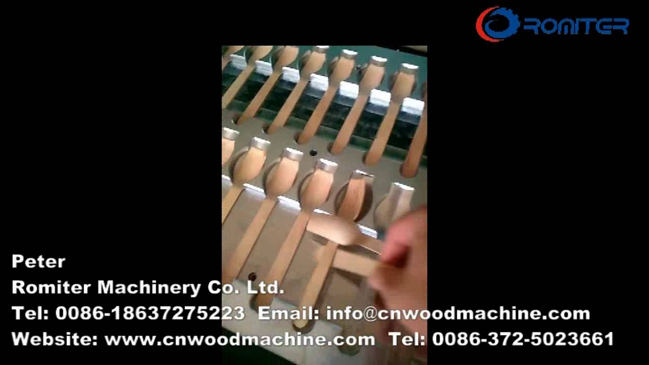 Wooden Spoons Making Machine for India Customer-Romiter Machinery