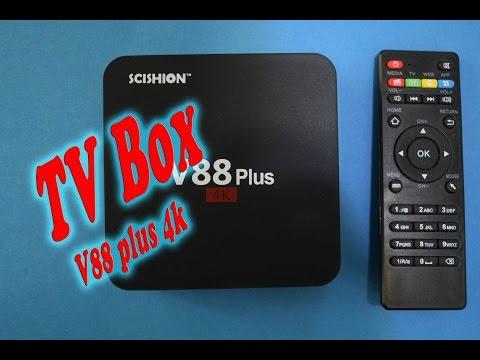 TV box v88 plus Android. ESPAÑOL