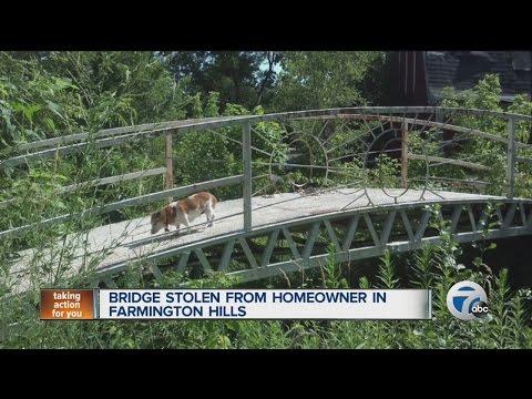 Anyone Seen A Stolen Bridge Lying Around Anywhere?