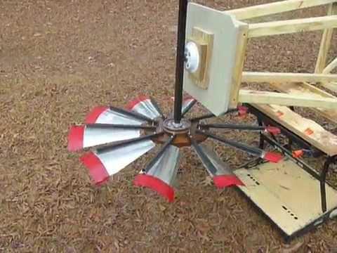 Windmill Homemade Youtube