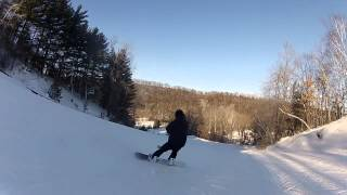 Quick run at afton alps