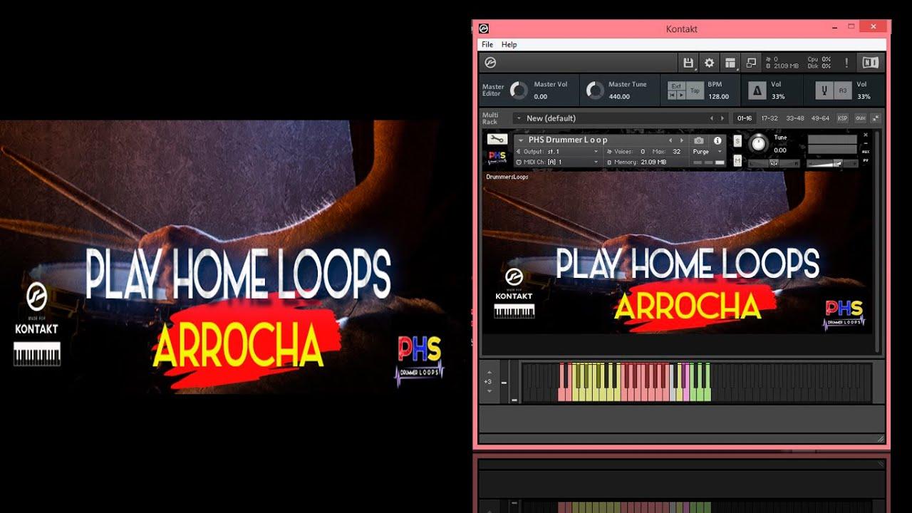 Loop Arrocha Para Kontakt - GRATIS - YouTube