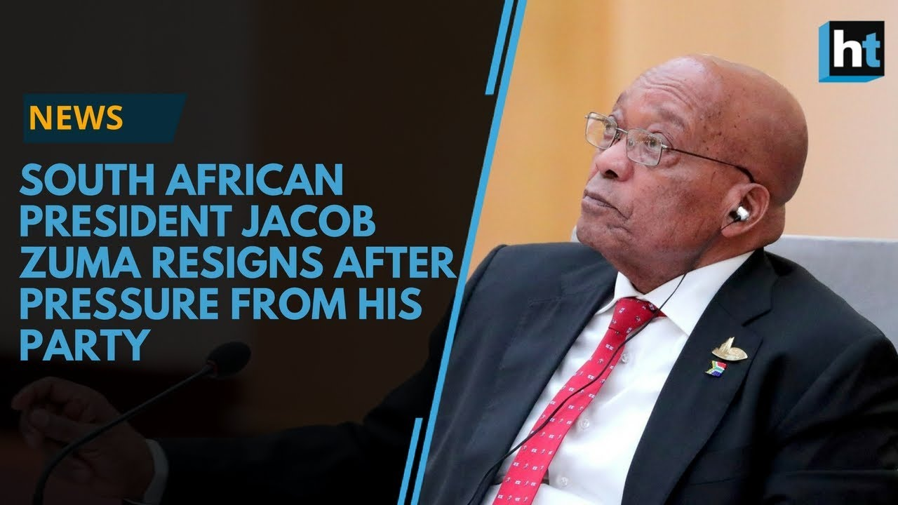 South African President, Jacob Zuma, has resigned