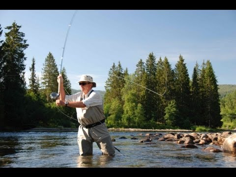 Norway - Salmon Fishing Orkla River - Aunan Lodge-HD.mov