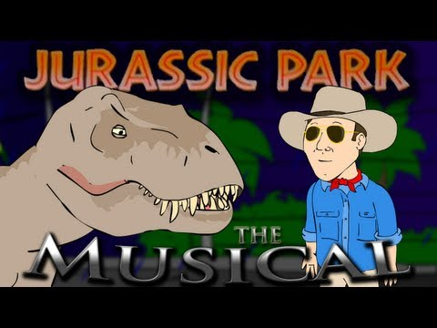♪ JURASSIC PARK THE MUSICAL - Animation Parody