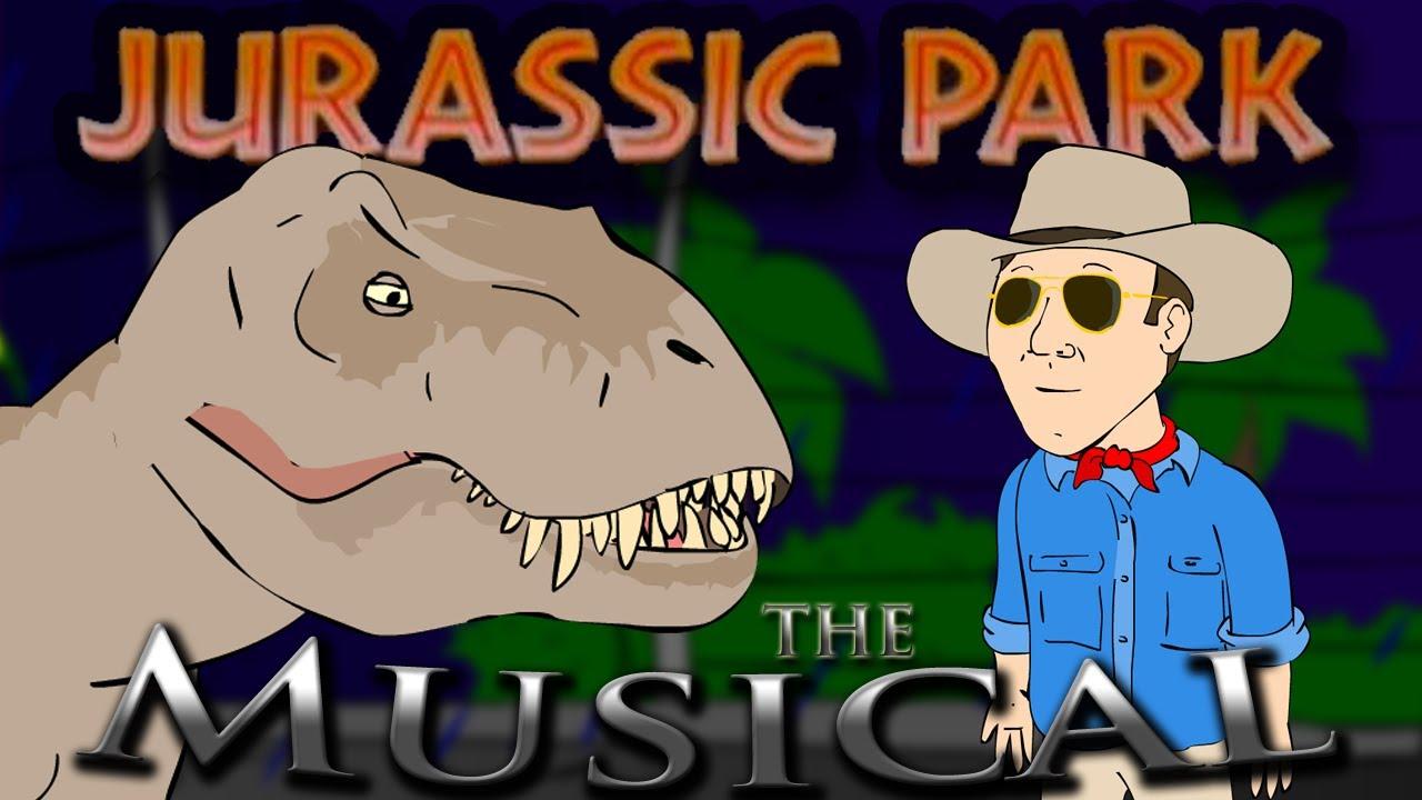 ♪ jurassic park the musical animation parody youtube
