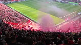 Pyro FCB Fortuna Düsseldorf gegen Bayern München 14.04.19