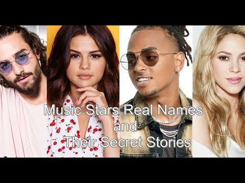 Music Stars Real Names And Their Secret Stories - Maluma, Selena Gomez, Rihanna And Many More