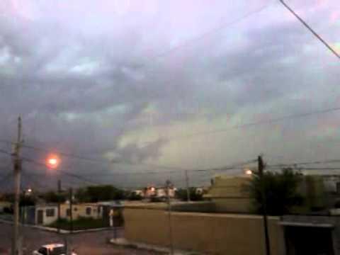 Tornado en matamoros tamaulipas 11/05/2012