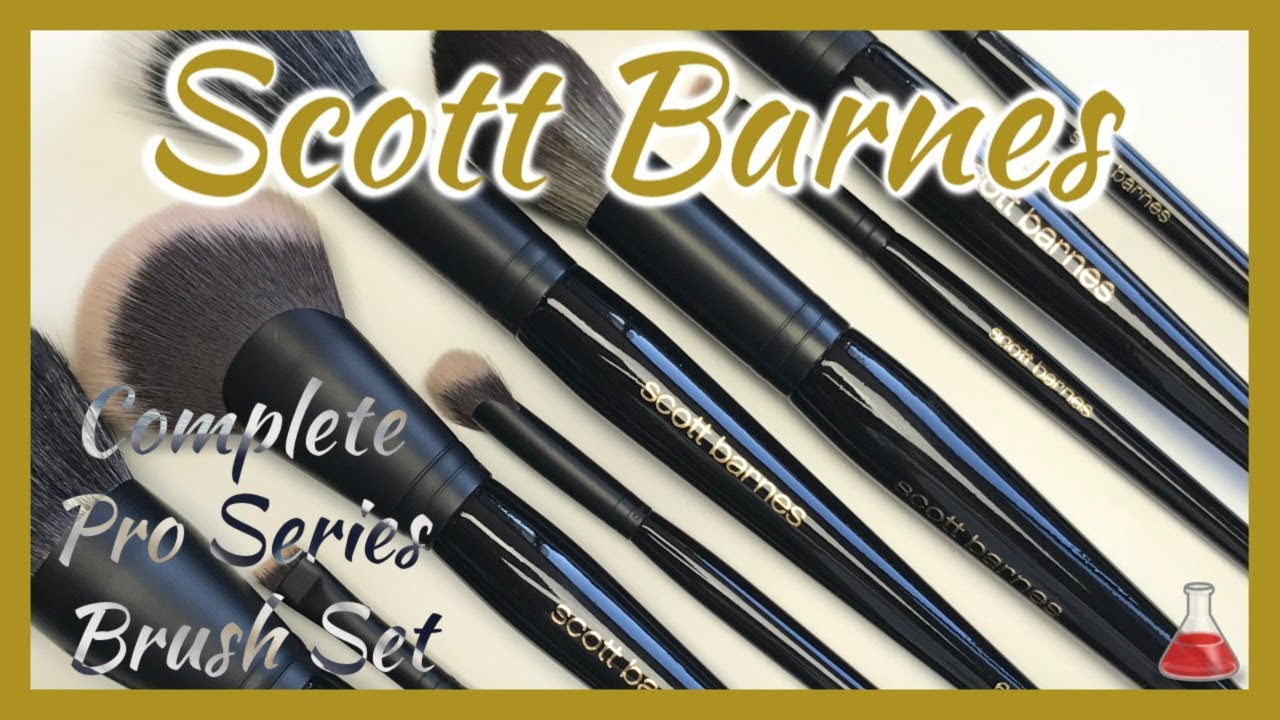 Scott Barnes Makeup Brushes | Unboxing, Review, Demo