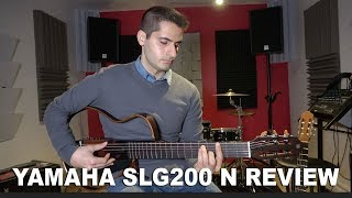 (Review) Yamaha SLG 200N - Classical Guitar sound test