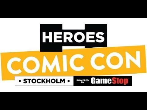 Comic Con Stockholm  Mads Mikkelsen