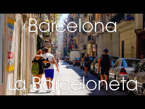 Barcelona - La Barceloneta Etc (Stabilised GoPro Hero 4 Silver)