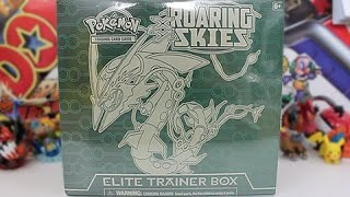 Opening A Pokemon Roaring Skies Elite Trainer Box!!