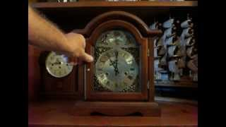 Waltham Tempus Fugit Mantel Clock - 31 Day