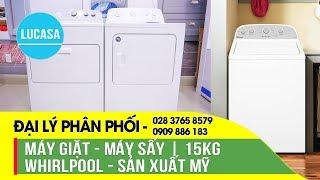 Đại Lý Phân Phối Máy giặt Whirlpool - Máy sấy Whirlpool - Lucasa.vn