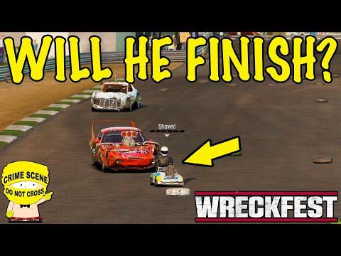 Will He Finish? - (Wreckfest Crash Compilation) |