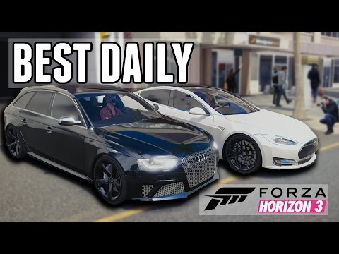 Best Daily Driver Challenge! (MPG, Reliability, Price, Drag Race, Snow & More)    Forza Horizon 3