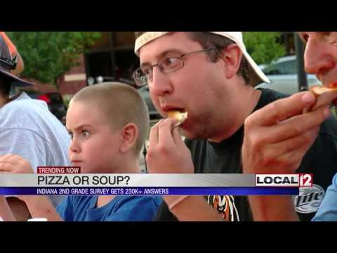 Pizza or soup? Indiana 2nd grade class survey gets 230K+ answers thanks to internet