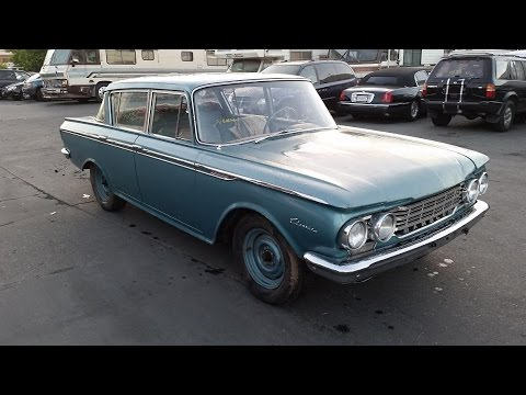Sold 1962 American Rambler Push Button Auto Transmission