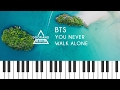 Images 방탄소년단 (BTS) - A Supplementary Story : You Never Walk Alone Piano Cover