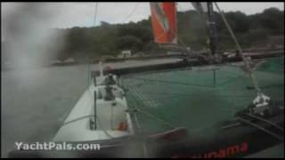 Boat Crash at Cowes Week
