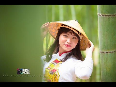 Ao Dai  In Spring