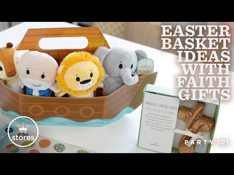 Easter basket ideas with faith gifts | party 101