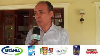 Secretário Francisco Teixeira da SRH visitou na Vale Verde projeto da palma para pecuaria leiteira