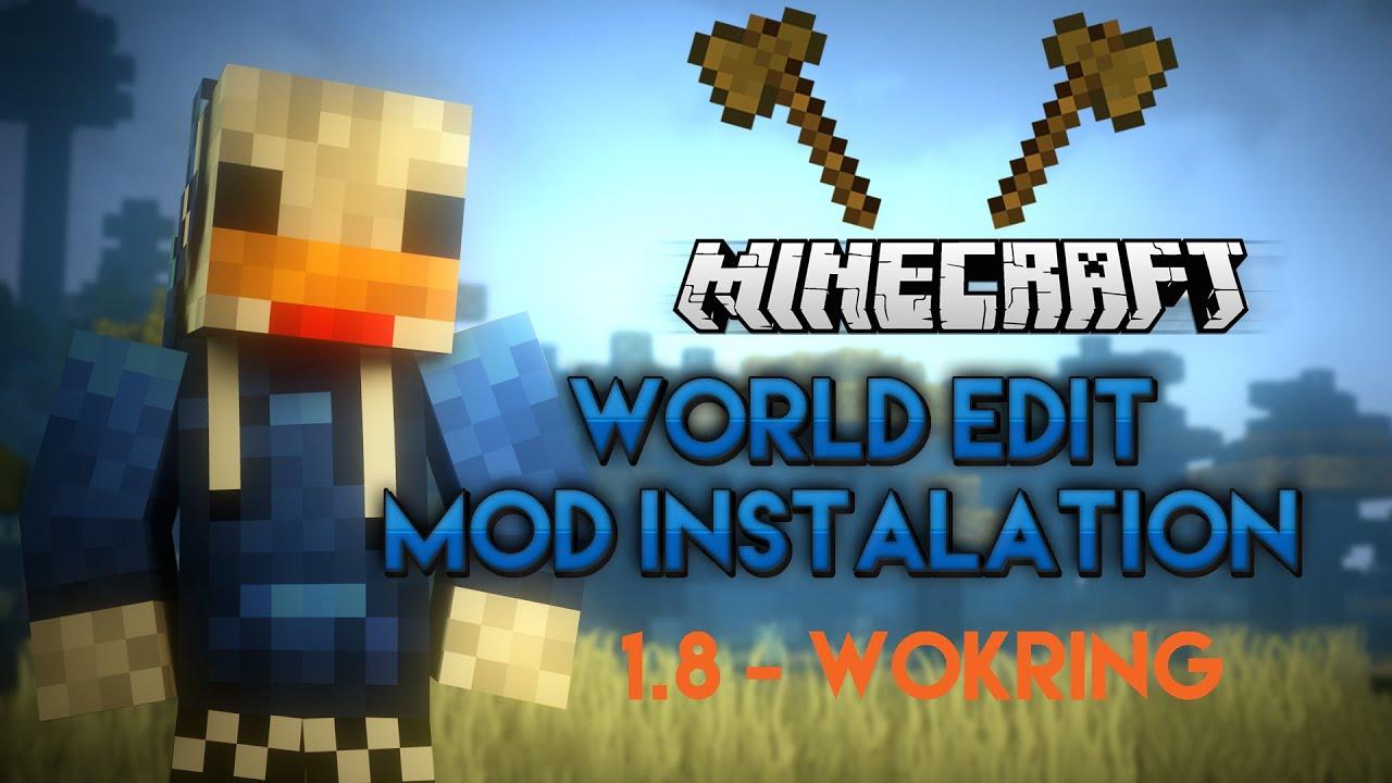 Скачать мод Worldedit для Майнкрафт 1.7.10