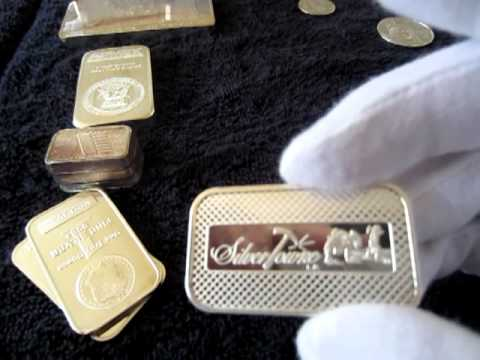 MY BULLION COINS AND BARS