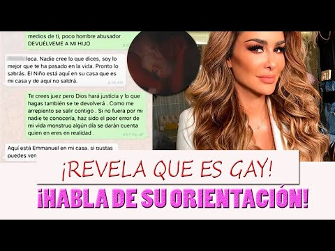 Ninel Conde Filtra mensajes de Giovanni Medina donde asegura que es gay