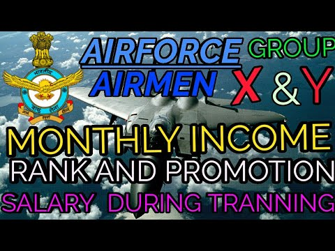 IAF AIRMEN MONTHLY SALARY,RANK AND PROMOTION
