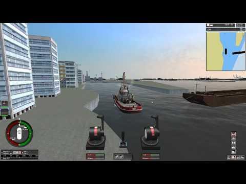 Ship Simulator Extremes - Barge Towing