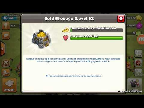 GOLD STORAGE LEVEL 10