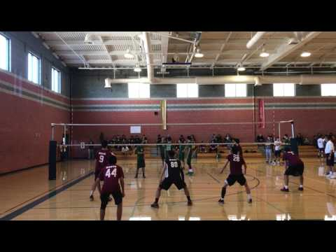Boys Volleyball: Bravo HS vs Damien HS - El Rancho HS Volleyball Tournament 2017