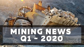 Mining News Flash Q1 2020 Featuring MAG Silver, IsoEnergy And Caledonia Mining