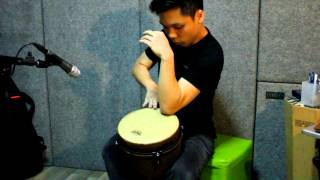 Remo Djembe Solo (Contemporary) - Earth Demo(www.turbochicken.net Instagram.com/Turbochicken Facebook.com/Shawn.Kok - - - - - A personal exploration and interpretation of the tonal and rhythmic ..., 2013-03-04T15:40:04.000Z)