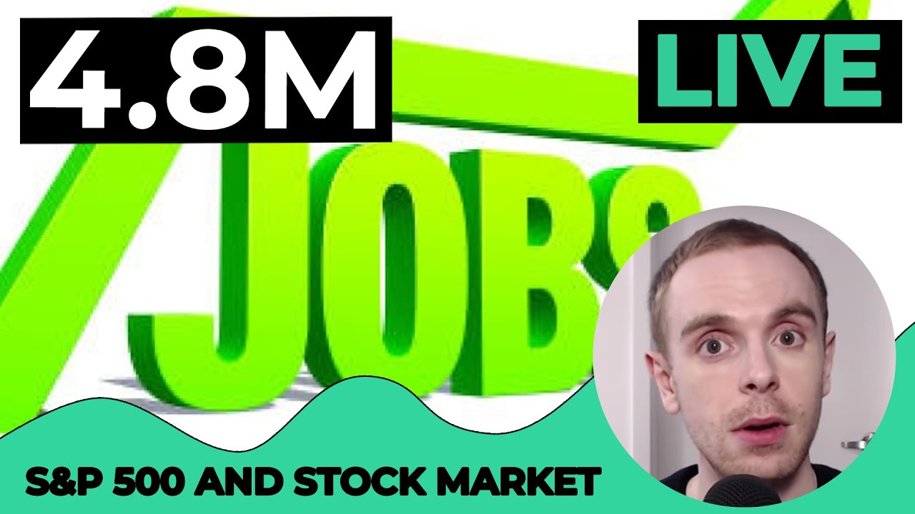 LIVE S&P 500 Today - 4.8M JOBS [S&P 500 Technical Analysis] July 2, 2020