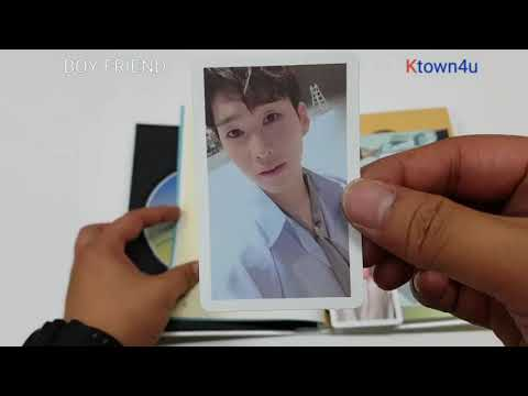 [Ktown4u Unboxing]: Boyfriend - Mini Album Vol.5 [NEVER END] (Day Ver.)
